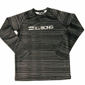 BILLABONG - MENS BLACK & WHITE T-SHIRT SIZE M